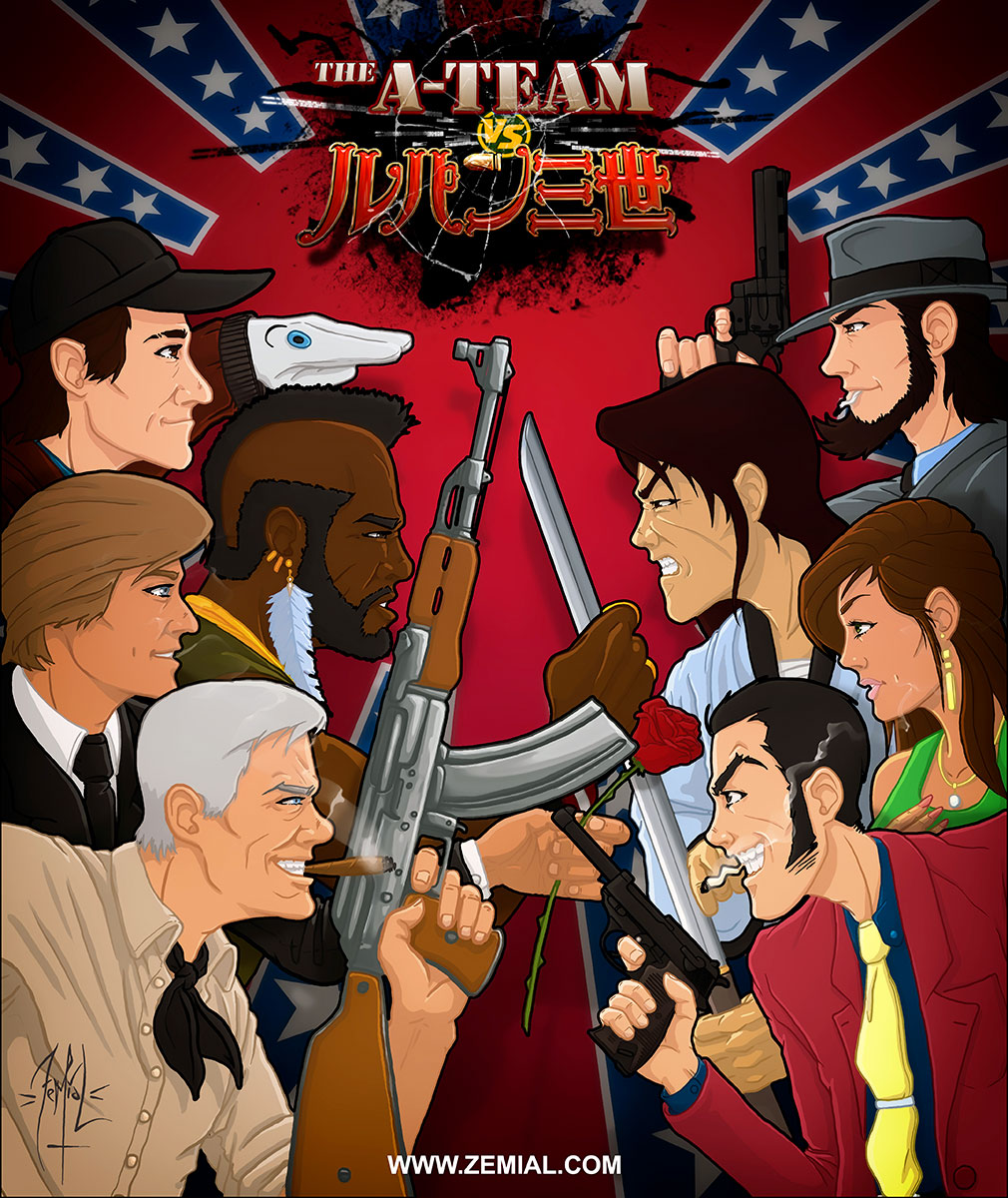 The A-Team vs Lupin the Third