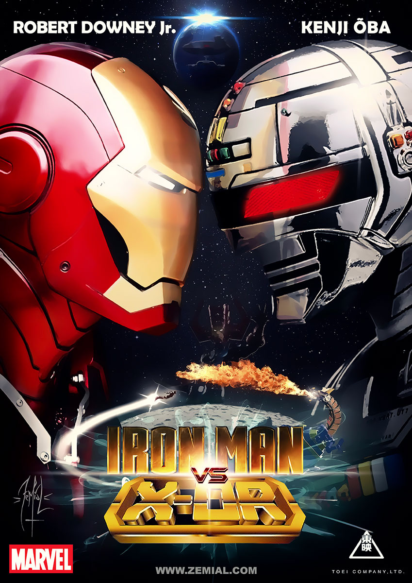 Iron Man VS. X-OR