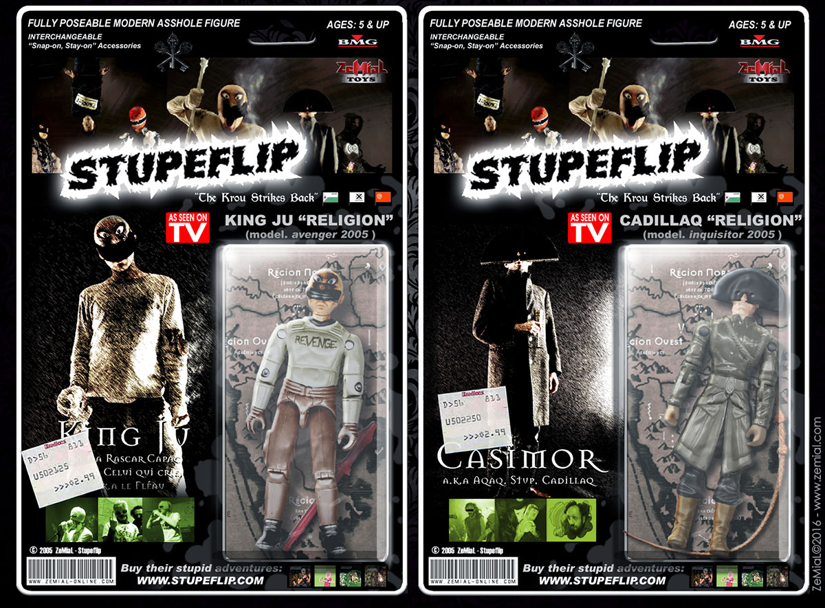Figurines : Stupeflip