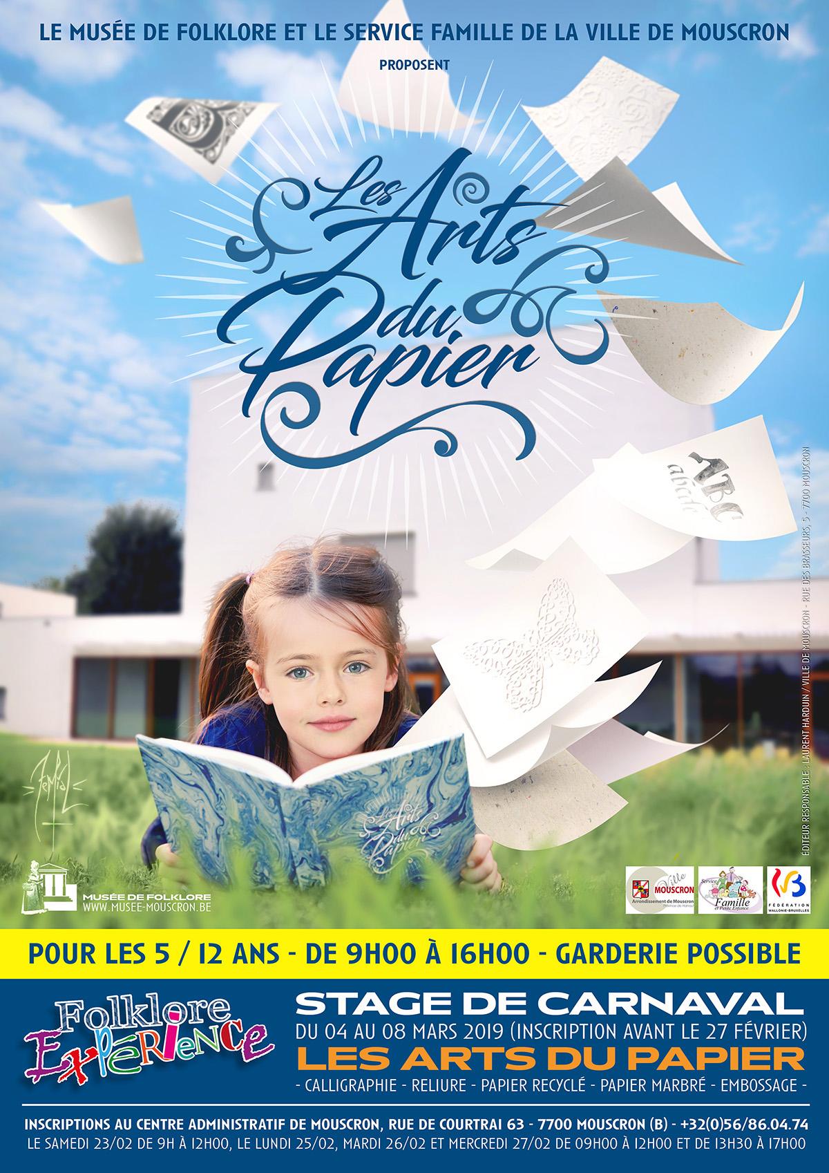Affiche : Les Arts du Papier