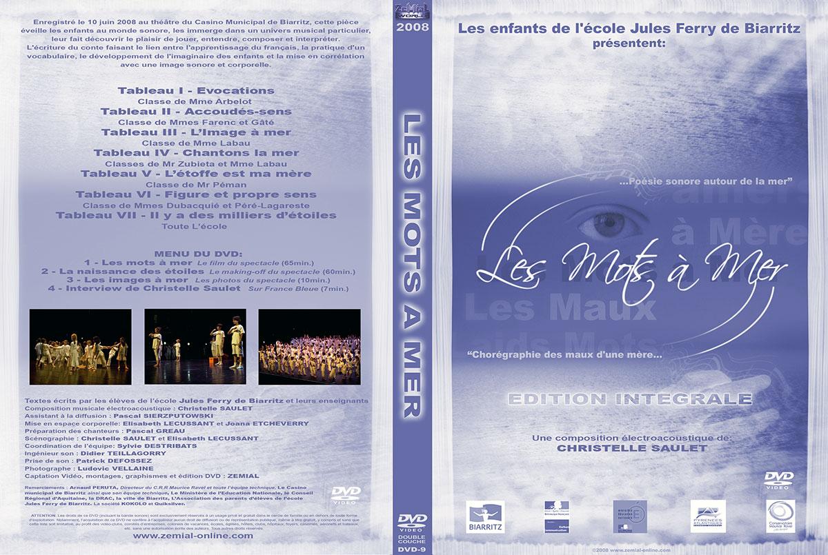 Pochette DVD : Les Mots à Mer