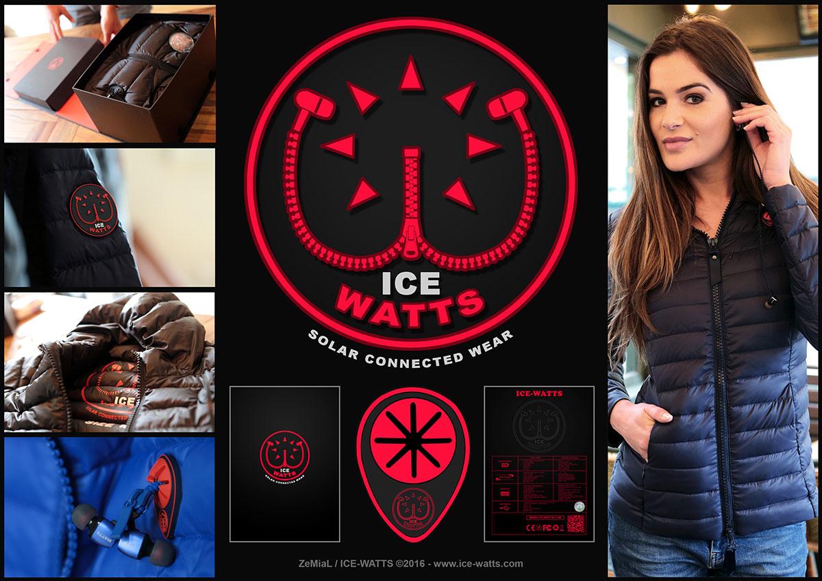 Logo : ICE-WATTS