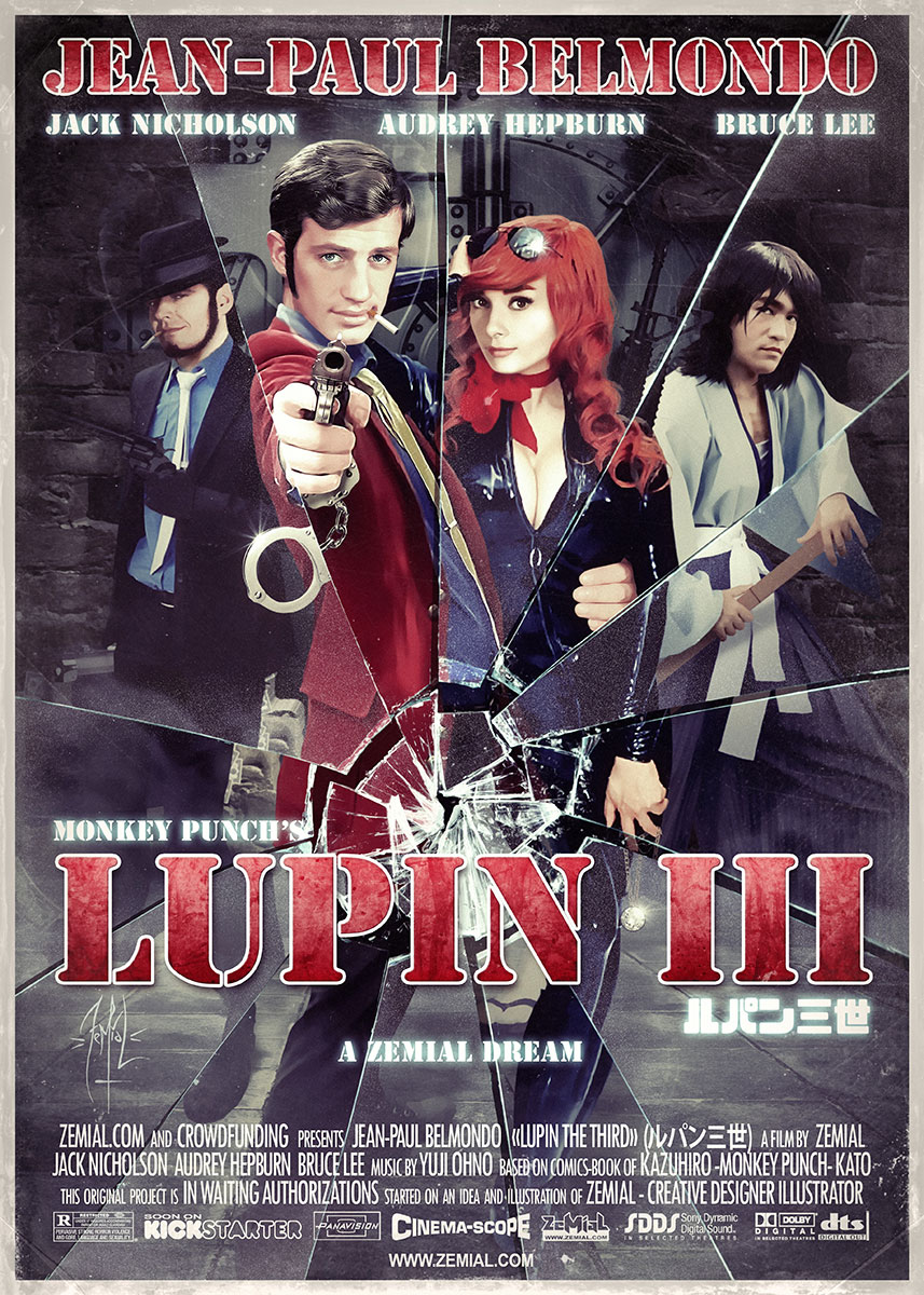 Affiche : LUPIN III The Movie