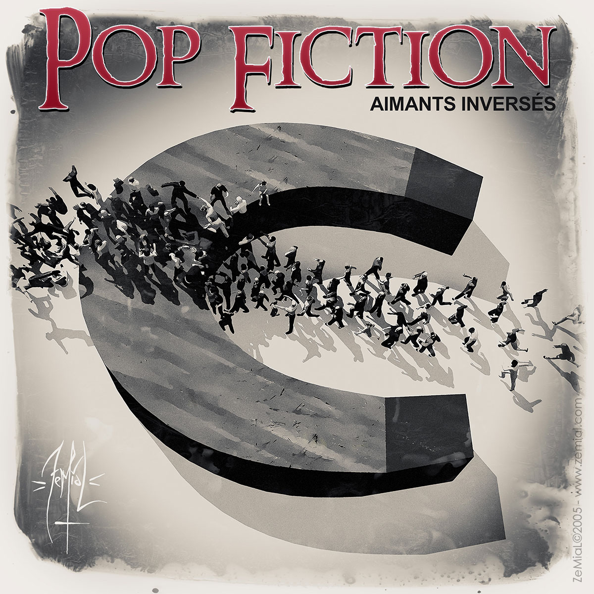 Cover : Pop Fiction - Aimants Inversés