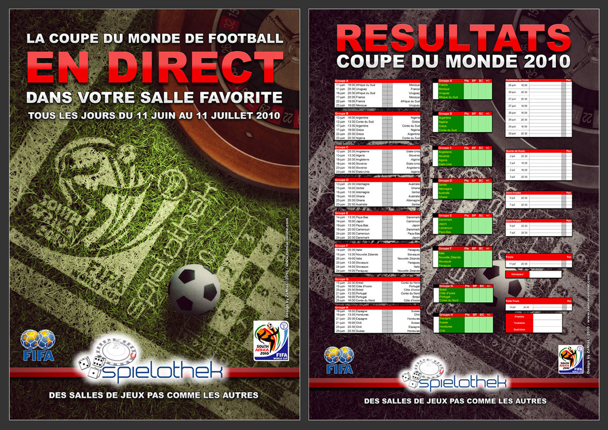 Affiche : Coupe du monde de Football 2010