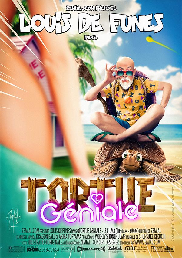 Affiche : TORTUE GÉNIALE - LE FILM
