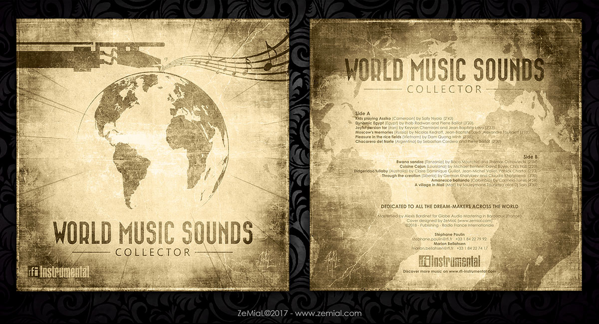 Cover : World Music Sounds Collector